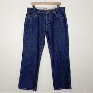 Tommy Hilfiger Dark Wash Relaxed Freedom Fit Jeans